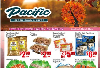 Pacific Fresh Food Market (Pickering) Flyer October 22 to 28