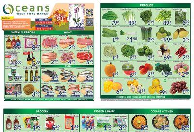 Oceans Fresh Food Market (Brampton) Flyer October 22 to 28