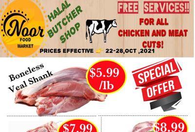 Noor Food Market Flyer October 22 to 28