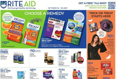 RITE AID Weekly Ad Flyer October 21 to October 28