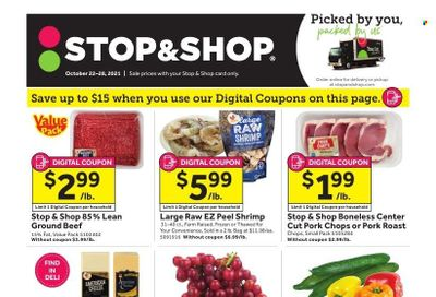 Stop & Shop (CT) Weekly Ad Flyer October 21 to October 28