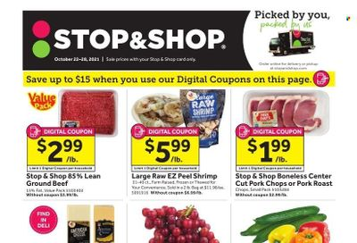 Stop & Shop (MA) Weekly Ad Flyer October 21 to October 28