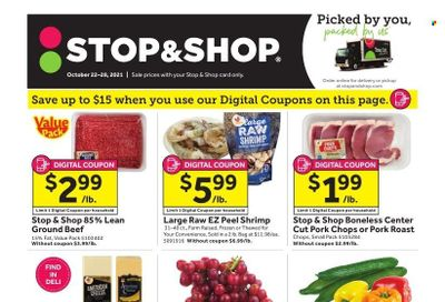 Stop & Shop (NJ) Weekly Ad Flyer October 21 to October 28