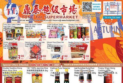 Tone Tai Supermarket Flyer October 22 to 28