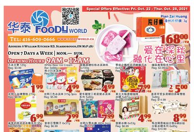 Foody World Flyer October 22 to 28