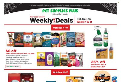 Pet Supplies Plus Weekly Ad Flyer October 22 to October 29