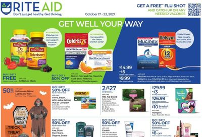 RITE AID Weekly Ad Flyer October 22 to October 29