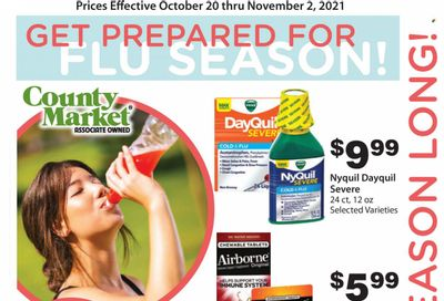 County Market (IL, IN, MO) Weekly Ad Flyer October 22 to October 29