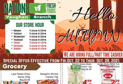 Nations Fresh Foods (Vaughan) Flyer October 22 to 28
