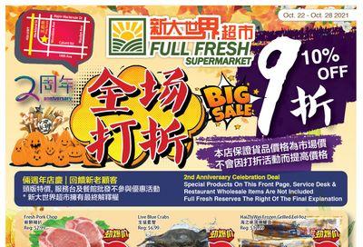 Full Fresh Supermarket Flyer October 22 to 28