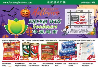 Fresh Win Foodmart Flyer October 22 to 28