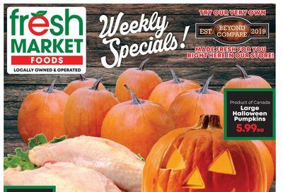 Fresh Market Foods Flyer October 22 to 28