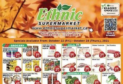 Ethnic Supermarket Flyer October 22 to 28