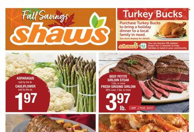 Shaw's (MA, ME, NH, RI, VT) Weekly Ad Flyer October 22 to October 29