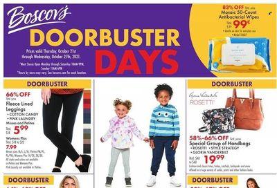 Boscov's (CT, DE, MD, NJ, NY, PA) Weekly Ad Flyer October 22 to October 29
