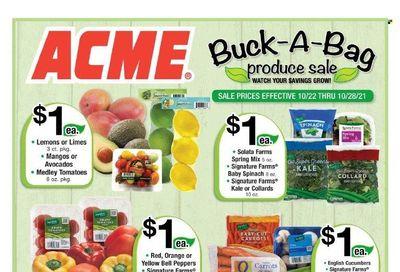 ACME (DE, NJ, NY, PA) Weekly Ad Flyer October 22 to October 29