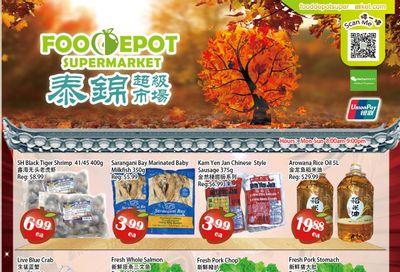 Food Depot Supermarket Flyer October 22 to 28