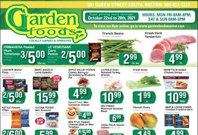Garden Foods Flyer October 22 to 28