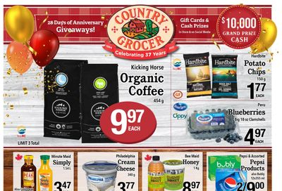 Country Grocer Flyer October 22 to 28