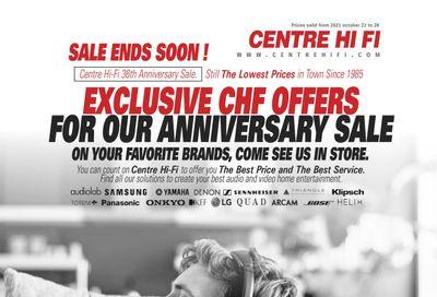 Centre Hi-Fi Flyer October 22 to 28