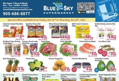 Blue Sky Supermarket (Pickering) Flyer October 22 to 28
