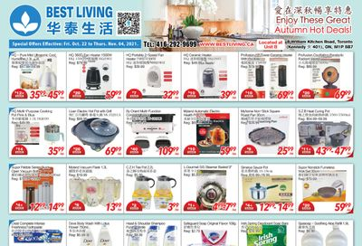 Best Living Flyer October 22 to November 4