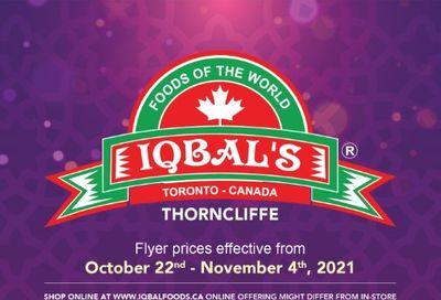 Iqbal Foods Flyer October 22 to November 4