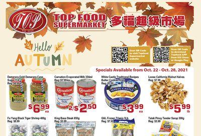 Top Food Supermarket Flyer October 22 to 28