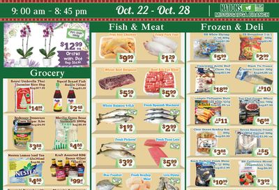 Nations Fresh Foods (Mississauga) Flyer October 22 to 28