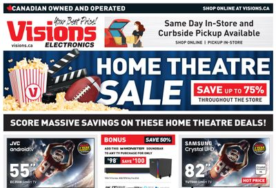 Visions Electronics Flyer October 22 to 28