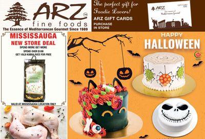 Arz Fine Foods Flyer October 22 to 28