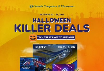 Canada Computers Flyer October 22 to 28