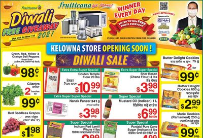 Fruiticana (BC) Flyer October 22 to 27
