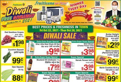 Fruiticana (Edmonton) Flyer October 22 to 28