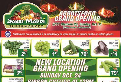 Sabzi Mandi Supermarket Flyer October 22 to 27