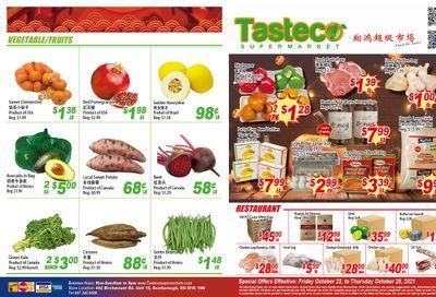 Tasteco Supermarket Flyer October 22 to 28