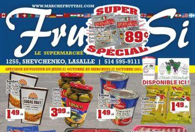 Frutta Si Flyer October 21 to 27