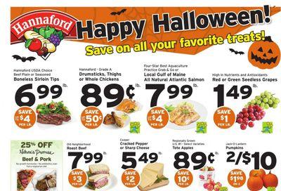 Hannaford (MA) Weekly Ad Flyer October 25 to November 1