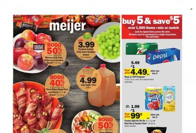 Meijer (OH) Weekly Ad Flyer October 25 to November 1