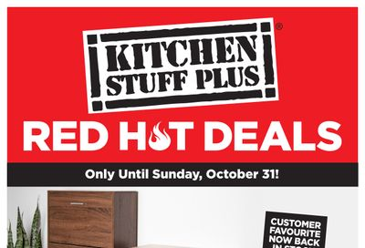 Kitchen Stuff Plus Red Hot Deals Flyer October 25 to 31