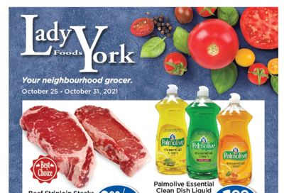 Lady York Foods Flyer October 25 to 31