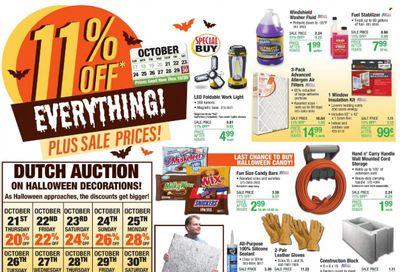 Menards Weekly Ad Flyer October 25 to November 1