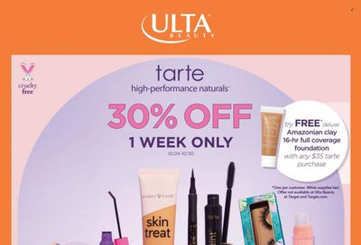 Ulta Beauty Weekly Ad Flyer October 25 to November 1