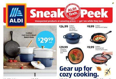 ALDI Weekly Ad Flyer October 25 to November 1