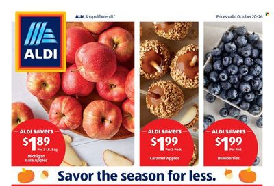 ALDI (IL, OH, TN) Weekly Ad Flyer October 25 to November 1