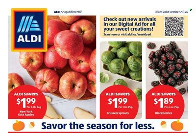 ALDI (DE, IL, MD, PA, VA, WV) Weekly Ad Flyer October 25 to November 1