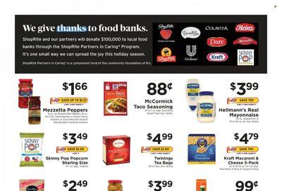 ShopRite (CT, DE, MD, NJ, NY, PA) Weekly Ad Flyer October 25 to November 1