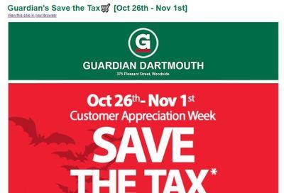 Guardian (Dartmouth Gate) Flyer October 26 to November 1