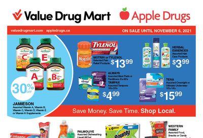 Apple Drugs Flyer October 24 to November 6