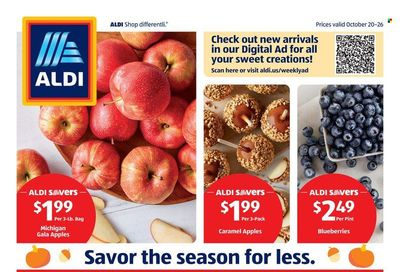 ALDI (IA, IL, WI) Weekly Ad Flyer October 25 to November 1